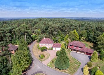 Thumbnail 5 bed detached house for sale in Fox Way, Ewshot, Farnham