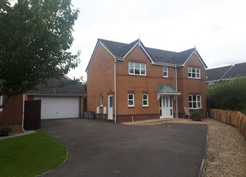 Thumbnail 4 bed detached house for sale in Golwg Y Waun, Birchgrove, Swansea.