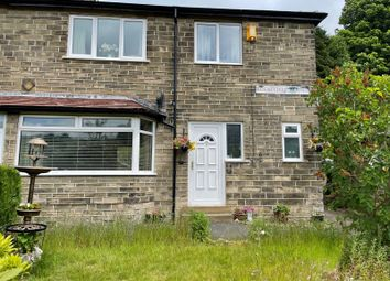 Thumbnail 3 bed terraced house for sale in Rockcliffe Mount, Luddendenfoot, Halifax