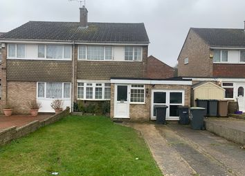 3 bed semi-detached house to rent in Holgate Drive, Luton LU4