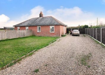 Thumbnail 2 bed semi-detached bungalow for sale in Whitegates, Ludham, Great Yarmouth
