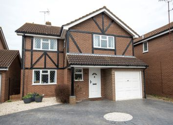 Thumbnail 4 bed detached house for sale in Merrifield Close, Reading