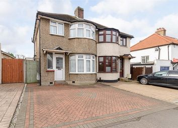 Thumbnail 3 bed semi-detached house for sale in Gander Green Lane, Cheam, Surrey