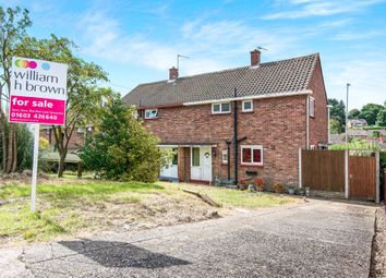 Thumbnail 3 bed semi-detached house for sale in Birkbeck Way, Thorpe St Andrew, Norwich