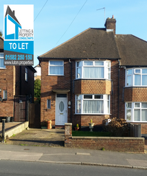 Thumbnail 3 bedroom semi-detached house to rent in Meyrick Avenue, Luton Bedfordshire