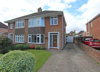 Thumbnail 3 bed semi-detached house for sale in Lackford Avenue, Totton, Southampton