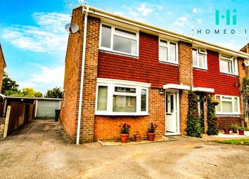 Thumbnail 3 bed semi-detached house for sale in Woodlands Way, Horsham, Southwater