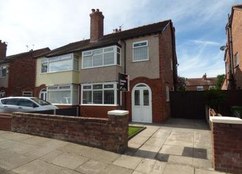 Thumbnail 3 bed semi-detached house for sale in Rothesay Drive, Crosby, Liverpool, Merseyside
