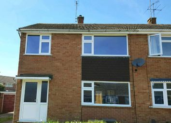 Thumbnail 3 bed semi-detached house for sale in Saltash Close, Wigston