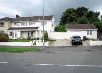 Thumbnail 4 bed semi-detached house for sale in Llygad Yr Haul, Caewern, Neath, Neath Port Talbot.