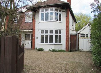 Thumbnail 4 bedroom semi-detached house to rent in Park Road, Peterborough, Cambridgeshire.