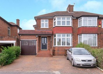 Thumbnail 3 bed semi-detached house for sale in Thistlecroft Gardens, Stanmore