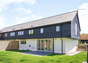 Thumbnail 3 bed barn conversion for sale in Pound Farm Barns, Boxford Road, Milden, Suffolk
