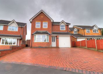 Thumbnail 4 bed detached house for sale in Glentworth Drive, Oswestry
