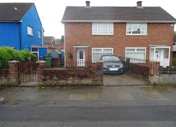 Thumbnail 2 bed semi-detached house for sale in Heol Pant Y Deri, Caerau, Cardiff.