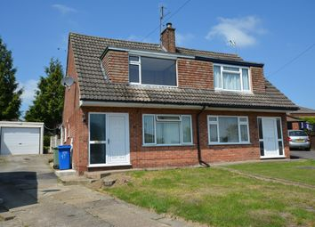 Thumbnail 3 bed semi-detached house to rent in Chesterton Close, Brimington, Chesterfield
