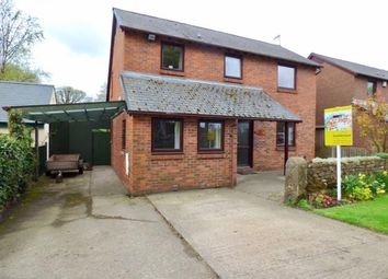 Thumbnail 3 bed detached house for sale in The Firs, Hallbankgate, Brampton, Cumbria