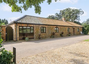 Thumbnail 4 bed barn conversion for sale in Common Road, West Bilney, King's Lynn