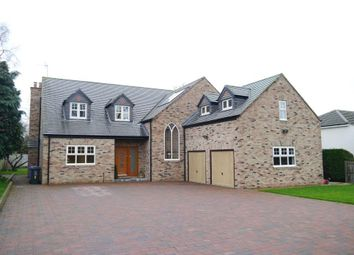 Thumbnail 5 bedroom detached house for sale in The Rise, Darras Hall, Newcastle Upon Tyne, Northumberland