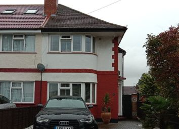 Thumbnail 3 bed semi-detached house to rent in Newnham Gardens, Northolt, London