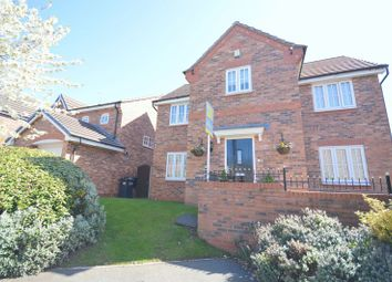 Thumbnail 4 bed detached house for sale in Rosewood Grove, Widnes