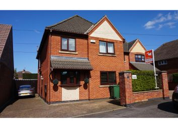 Thumbnail 4 bed detached house for sale in Brighton Avenue, Syston