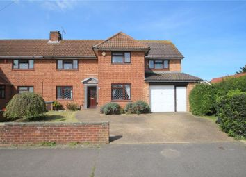Thumbnail 4 bed semi-detached house for sale in Irene Avenue, Lancing, West Sussex