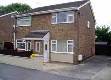 Thumbnail 2 bed semi-detached house to rent in Hafan Deg, Coedpoeth, Wrexham, Clwyd