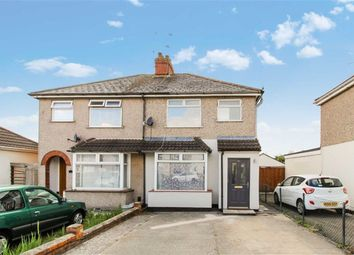 Thumbnail 3 bed semi-detached house for sale in Cheney Manor Road, Ferndale Area, Swindon