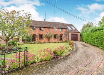 Thumbnail 4 bed detached house for sale in Weasenham, King's Lynn, Norfolk