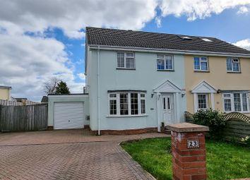 Tudor Drive, Sticklepath, Barnstaple EX31. 3 bed semi-detached house for sale