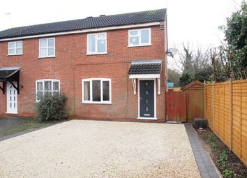 Thumbnail 3 bedroom semi-detached house for sale in Sawbrook, Fleckney, Leicester