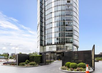 Thumbnail 2 bedroom flat to rent in The Tower, One St George Wharf, London