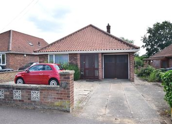 Thumbnail 2 bed bungalow for sale in Drayton Wood Road, Hellesdon, Norwich