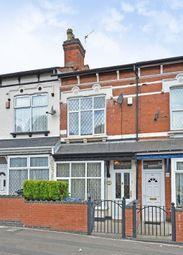 Thumbnail 3 bedroom terraced house for sale in Brixham Road, Birmingham