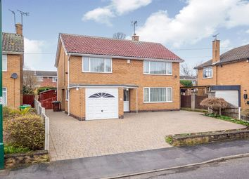 Thumbnail 4 bed detached house for sale in Shepherds Wood Drive, Aspley, Nottingham