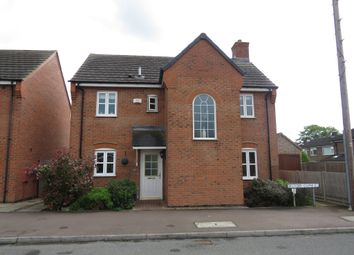 Thumbnail 4 bed detached house for sale in Belvoir Close, Stamford