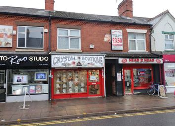 Thumbnail 1 bed flat for sale in Green Lane Road, Leicester