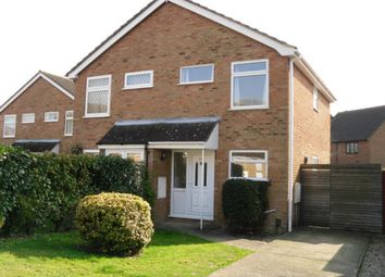 Thumbnail 2 bed semi-detached house to rent in Washford Farm Road, Ashford, Kent