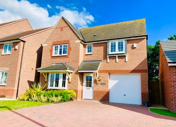 Thumbnail 4 bed detached house to rent in Tiber Road, North Hykeham, Lincoln