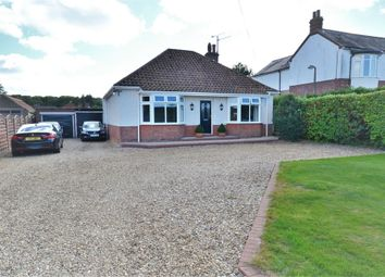 Thumbnail 3 bed detached bungalow for sale in Grimston Road, South Wootton, King's Lynn