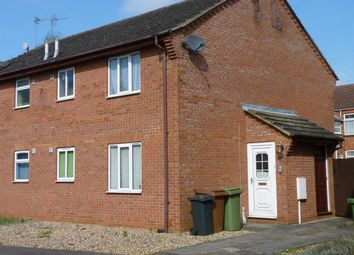 Thumbnail 1 bed semi-detached house to rent in Adams Close, Wellingborough