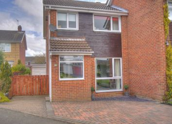 Thumbnail 3 bed semi-detached house for sale in Augustus Drive, Bedlington