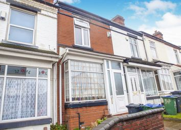 Thumbnail 2 bedroom terraced house for sale in Vicarage Road, West Bromwich