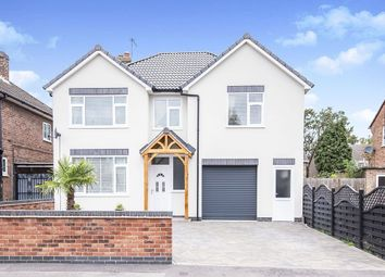 Thumbnail 4 bed detached house for sale in Chester Road, Blaby, Leicester