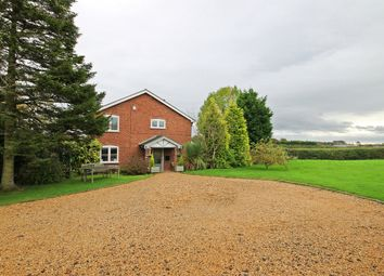 Thumbnail 4 bedroom detached house for sale in Pillmoss Lane, Lower Whitley, Warrington