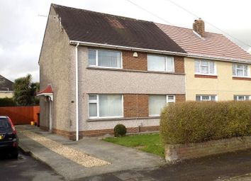 Thumbnail 3 bed semi-detached house for sale in Heol Catwg, Neath, Neath Port Talbot.