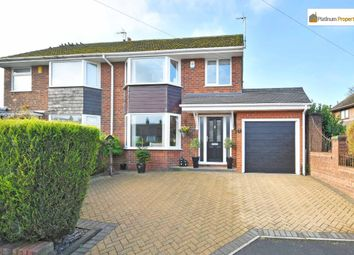Thumbnail 3 bed semi-detached house for sale in Fernlea Grove, Meir Heath, Stoke-On-Trent