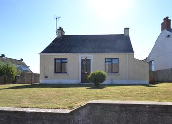 Thumbnail 3 bed detached bungalow for sale in Middle Street, Rosemarket, Milford Haven
