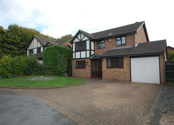 Thumbnail 4 bedroom detached house to rent in Gleneagles Drive, Stretton, Burton, Burton Upon Trent, Staffordshire